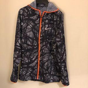Nike Tree Branch/Camo Style Jacket Sz S